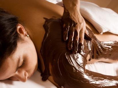 Čokoládová masaž