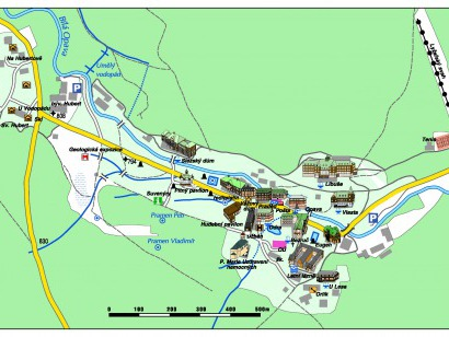 Mapa lázní