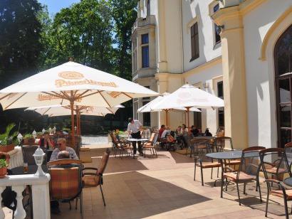 Lázně Hotel Vráž - terasa