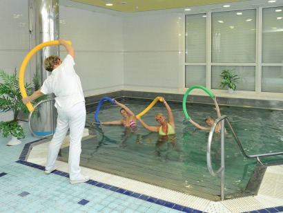 Lázně Hotel Vráž - procedura