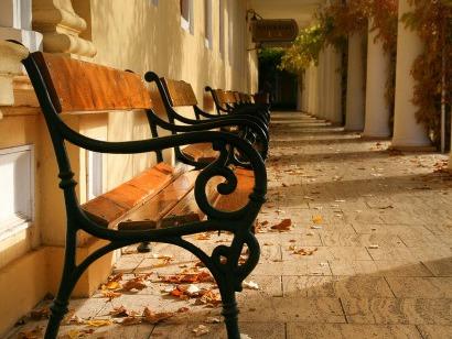 Podzimní kolonáda