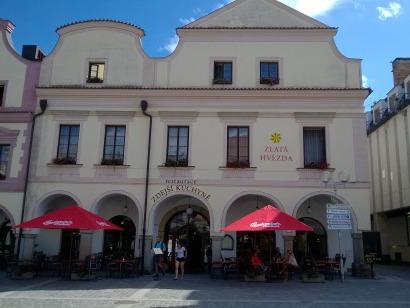 Hotel Zlatá Hvězda na náměstí
